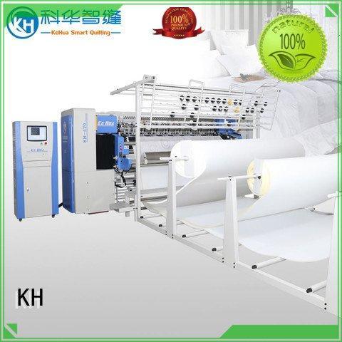 singleneedle quilting fullauto long arm quilting machine KH
