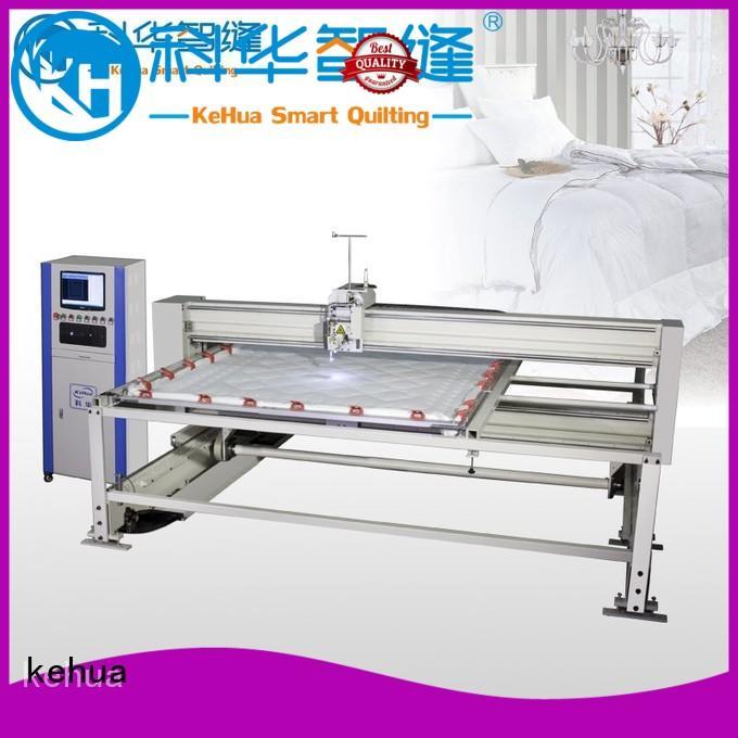 KH Brand dualneedle kh420 long arm quilting machine hispeed supplier