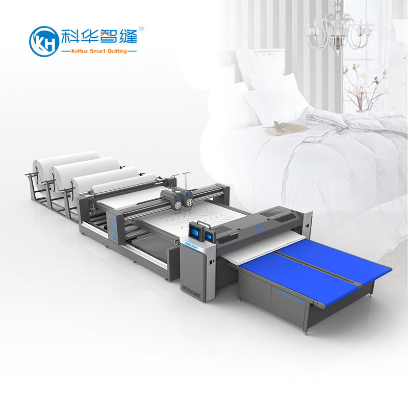 KH-V2A / DK2S Full-auto Dual-Needle Quilting Machine