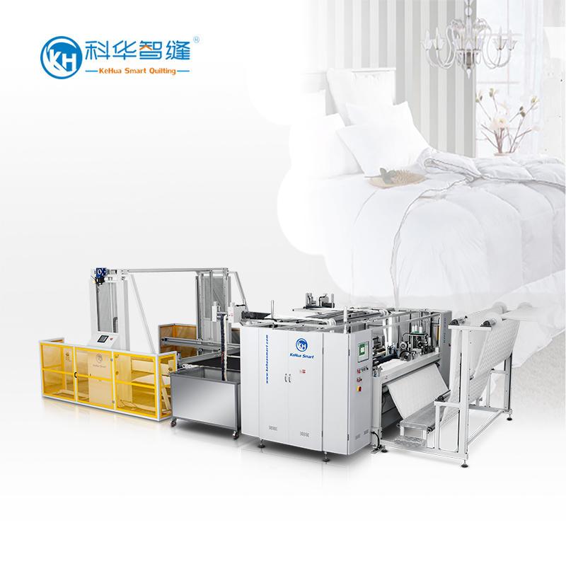 KH-240 Four-side Quilting Machine + KH-CM1 Conveyor Machine
